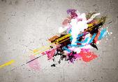 Graffiti image — ストック写真
