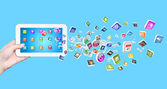 Media technologies — Stock Photo