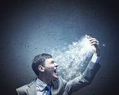 Aggressiv verksamhet — Stockfoto