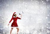 O natal está chegando — Foto Stock