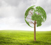 ökologie-idee — Stockfoto