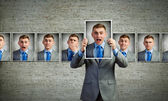 Showing emotions — Stock Photo