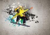 Graffiti image — Stock fotografie