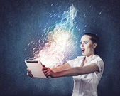 Internet addiction — Stock Photo