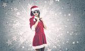 Fille de Santa — Photo