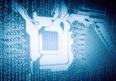 Micro circuit — Стоковое фото