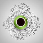 コーヒー タイム — ストック写真
