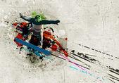 Graffiti image — Foto de Stock