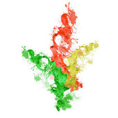 éclaboussures de couleur — Photo