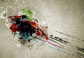 Graffiti bakgrund — Stockfoto