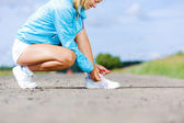 Running outdoor — Stock Photo
