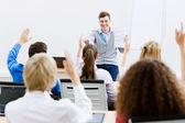 Lärare på lektion — Stockfoto