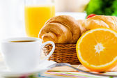 Delicious breakfast — Stock Photo