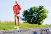 девушка спорта — Стоковое фото