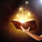 Magische boek — Stockfoto