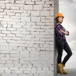 Woman engineer — Stock Photo