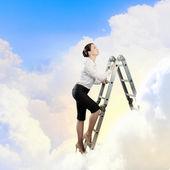 Ladder of success — Stock Photo