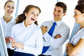 Successful business people — Stock Photo