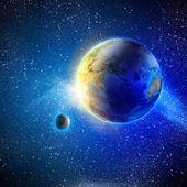 Dünya gezegen — Stok fotoğraf