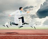 Kör läkare — Stockfoto