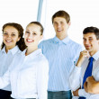 Stock Photo: Group of businesspeople