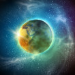 Stock Photo: Earth planet