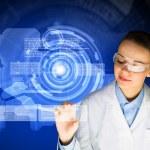 Woman scientist — Stock Photo #41127349