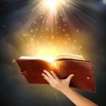 Magic book — Stock Photo #41127507