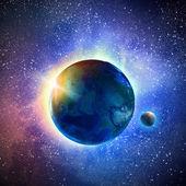Planeta ziemia — Zdjęcie stockowe