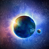 地球惑星 — ストック写真