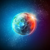 Planet erde — Stockfoto