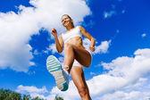 Sport girl — Zdjęcie stockowe