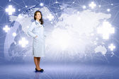 Woman doctor — Stock Photo
