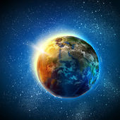 Earth planet — Foto Stock