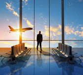 Business travel — Stock Photo