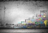 Success ladder — Stock Photo