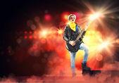 Rock star — Stock Photo