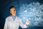 Young researcher — Stock Photo
