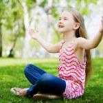 Little girl in park — Stock Photo #41134957