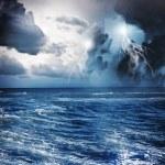 Storm at night — Stock Photo