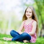 Little girl in park — Stock Photo #41135667