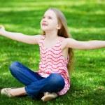 Little girl in park — Stock Photo #41137673