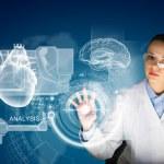 Woman scientist — Stock Photo #41139143
