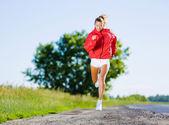 Sport girl — Foto Stock