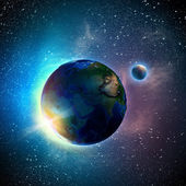 Earth planet — Stockfoto