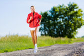 Sport girl — Stock fotografie