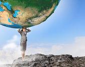 Save planet — Stock Photo