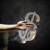 Dollar failure — Stock Photo