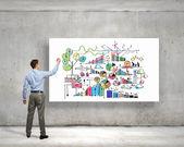 业务战略 — 图库照片