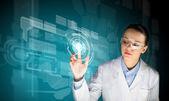 Innovation technologies — Stockfoto